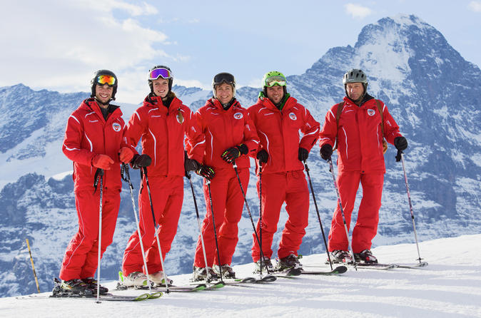 Ski or Snowboard Lesson for Beginners in Grindelwald from Interlaken