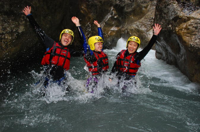 Swiss alps beginner canyoning experience from interlaken in interlaken 191185