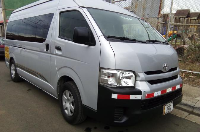 Private Transfer from San Jose or Airport to Montezuma 1 to 8 People