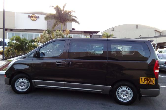 Transfer to Jaco Beach From San Jose or Airport