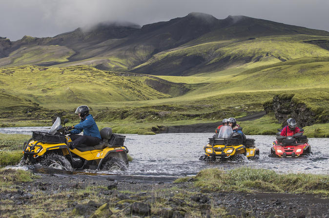 Full Day ATV Quad Adventure Tour from Reykjavik