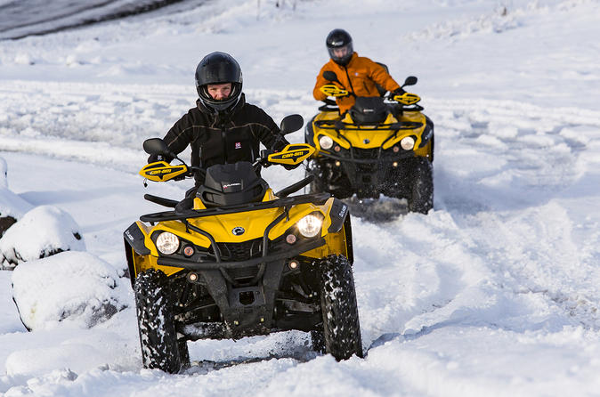 Northern Lights Hunt and ATV Quad Adventure Tour from Reykjavik