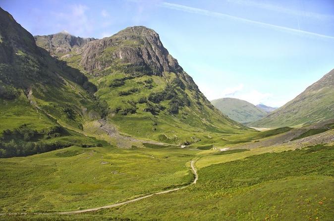 Viagem diurna para grupos pequenos no Lago Ness, Glencoe, Terras Altas saindo de Glasgow