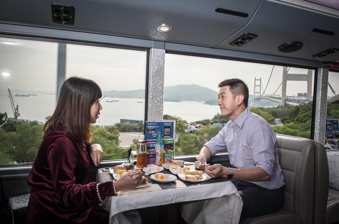 Hong Kong Crystal Bus Sightseeing and Dinning Tour