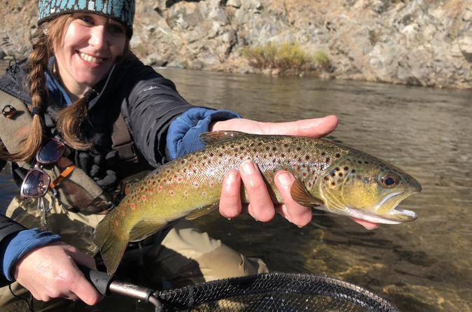 Solo Angler's Private Full Day Fly Fishing Adventure - San Francisco