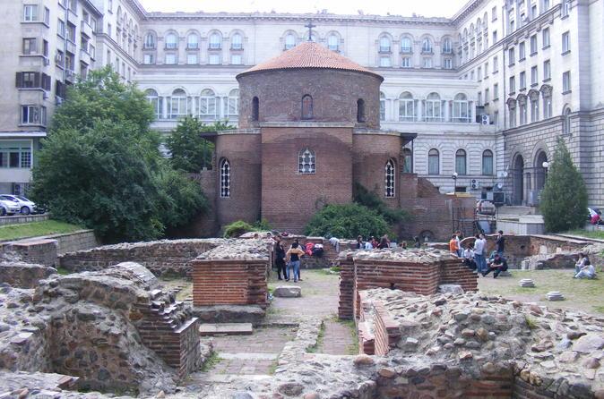 Degustação de comida e excursão cultural a pé em Sofia