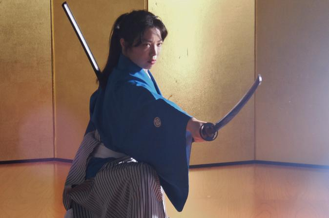 Samurai performance in kyoto in kyoto 540548