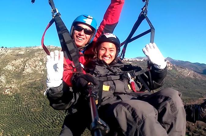 Sky Experience - Paragliding tandem flights in Rome - BASE FORMULA