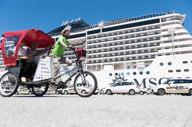 Bari Shore Excursion: Private Rickshaw City Tour