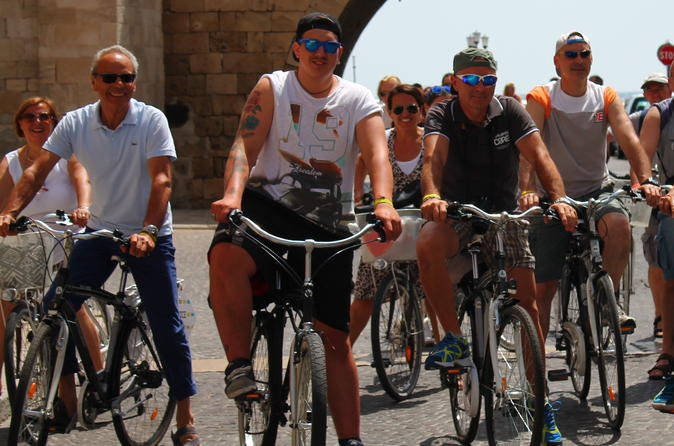 Historic bari bike tour in bari 306945