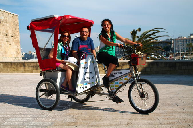 Historic bari rickshaw tour in bari 307886