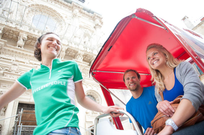 Private Tour: Rickshaw City Tour in Lecce