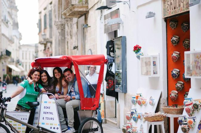 Shopping in lecce by rickshaw in lecce 309073