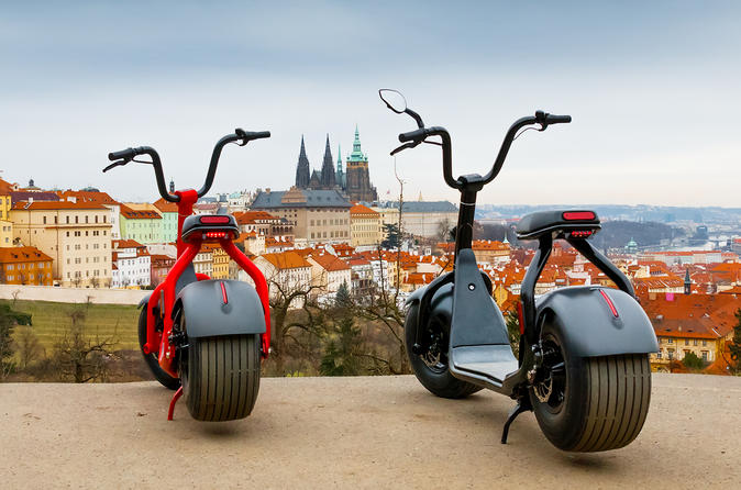 Scrooser Tour- Fat Tire E-scooter Sightseeing Tours - Prague