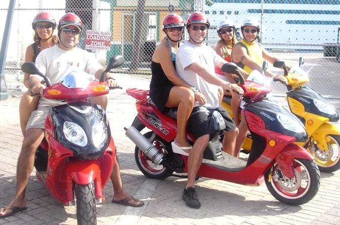 Scooter Tour of Nassau