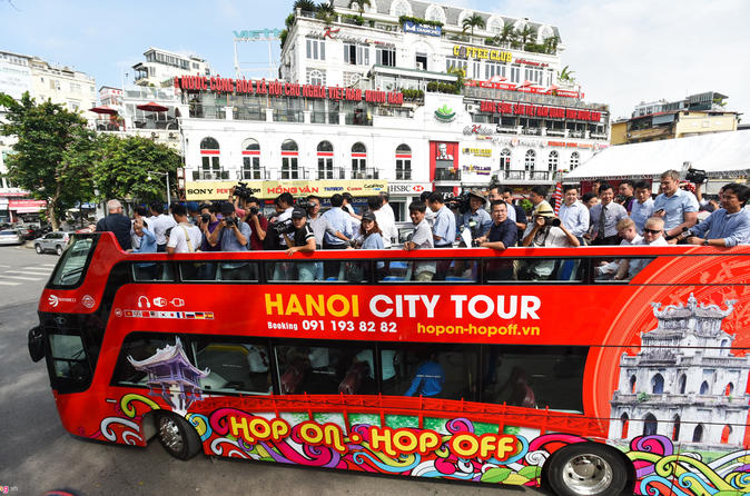Hanoi Hop-on Hop-off Bus Tickets with Hotel Delivery