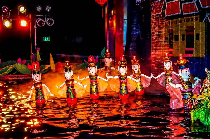 Hanoi Street Food Walking Tour & Water Puppet Show