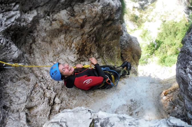 CANYONING IN THE TRIGLAV NATIONAL PARK - Bovec