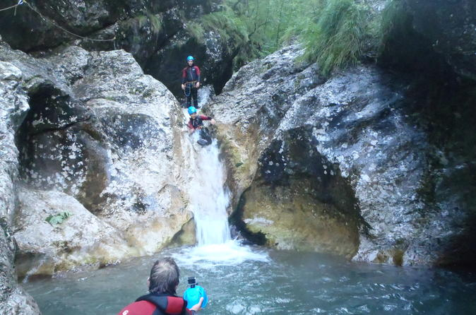 FAMILY CANYONING IN SOCA VALLEY - Bovec