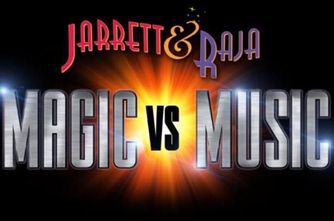 Jarret and Raja: Magic vs Music at the Stratosphere Hotel 2019 - Las