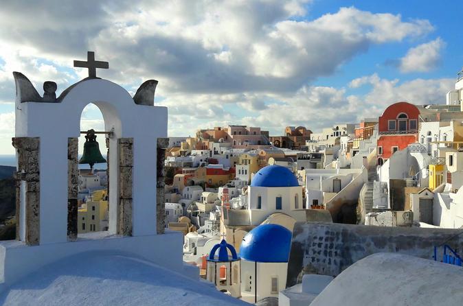 Classic Santorini Panorama: Visit The Most Popular Destinations Of Santorini!