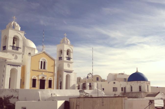 Santorini: Cultural Villages & Flavours