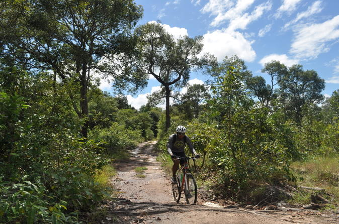 Phnom Kulen Mountain-Biking Adventure from Siem Reap