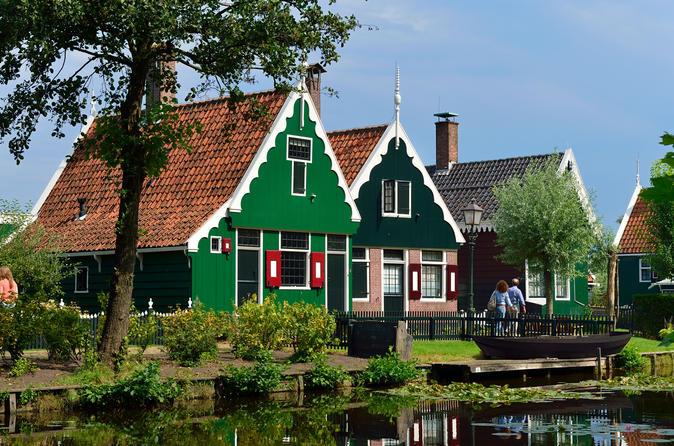 Excursão pela Zona Rural Holandesa e Cultura saindo de Amsterdã e Incluindo Zaanse Schans, Edam e Volendam