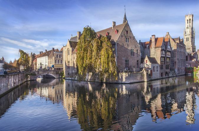 Viagem diurna em Bruges saindo de Amsterdã incluindo Excursão a pé em Bruges