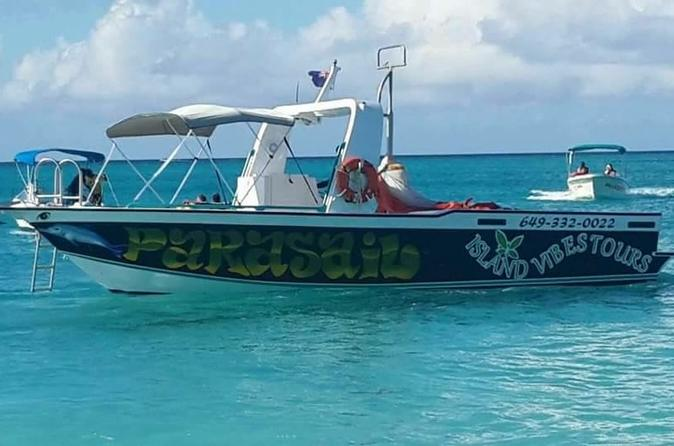 Private Providenciales Parasailing Adventure