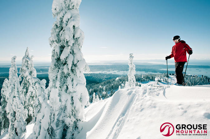 Grouse Mountain Full Day Snow Lift Ticket
