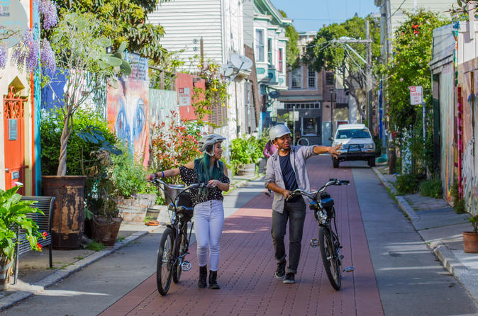 San Francisco Mini Majestic Electric Bike Tour