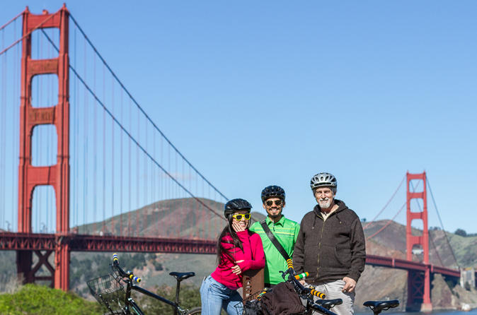 The Golden Gate Bridge & Sausalito Bike Tour