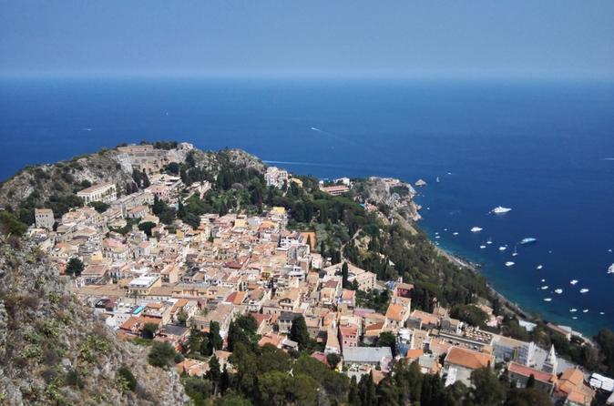 Taormina, Castelmola, Giardini, Isolabella and Madonna Rocca TOUR