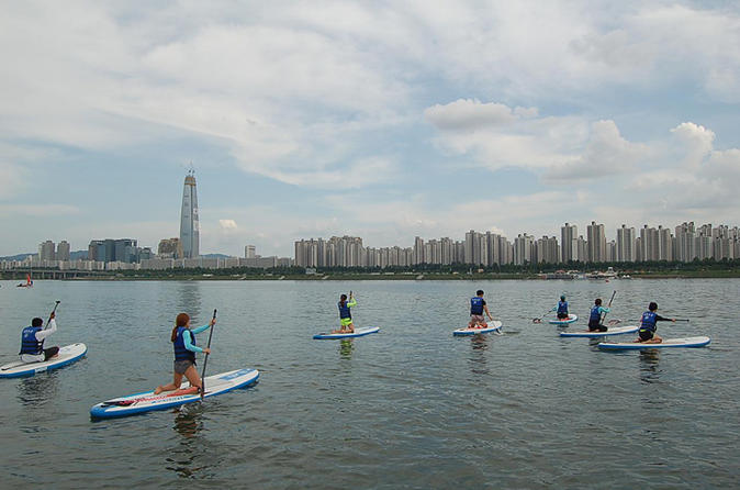 Stand Up Paddleboard Board Lesson And Tour On Han River - Seoul