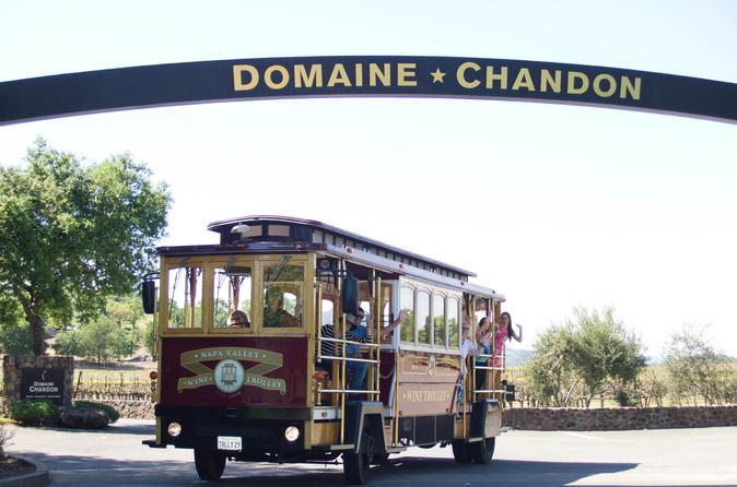 Napa valley wine trolley in napa 139055