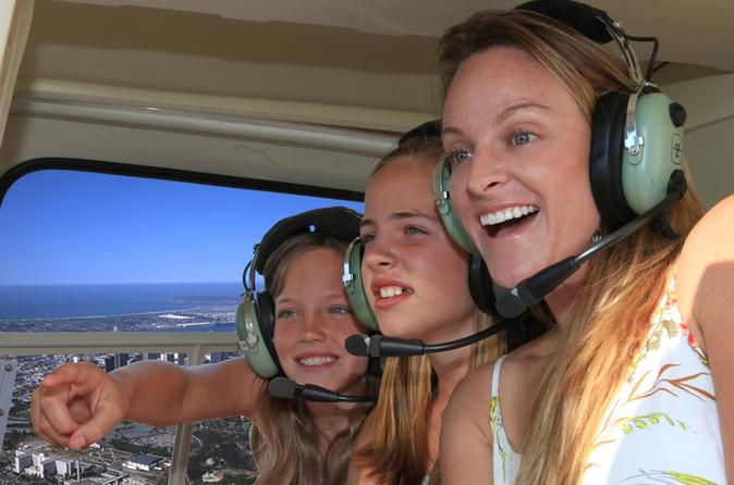 Southern California Coastal Sights Helicopter Flight from San Diego