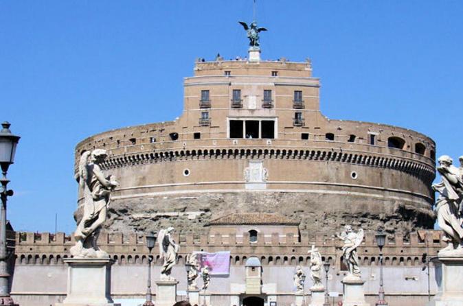 Excursão a pé ao Castelo de Santo Ângelo e a Ponte de Santo Ângelo em Roma