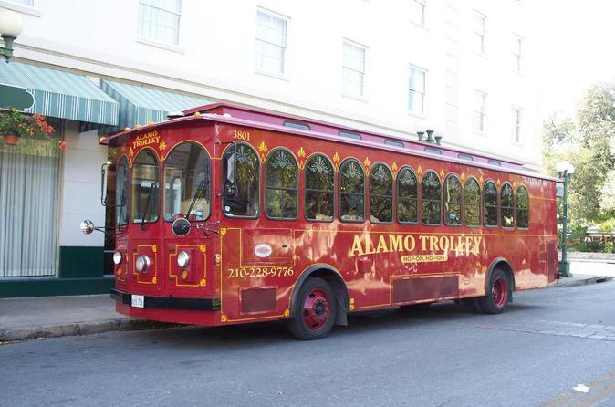 San antonio trolley tour in san antonio 174071