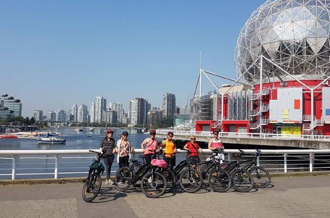 City Sights E-Bike Guided Tour With Picnic - Vancouver