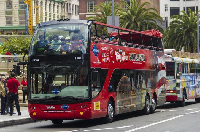 Big Red Bus Tour San Francisco