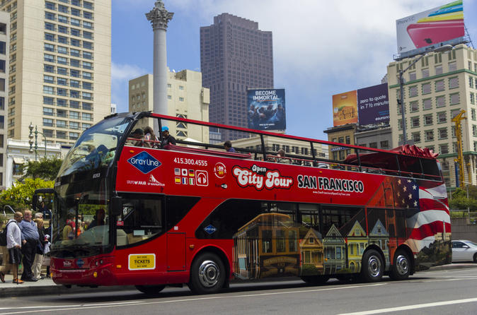 San Francisco Shore Excursion: Hop-On Hop-Off Tour