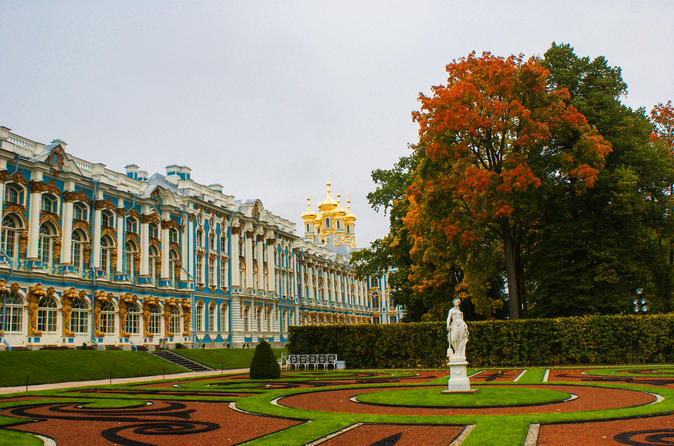 Catherine Palace small-group tour in Pushkin