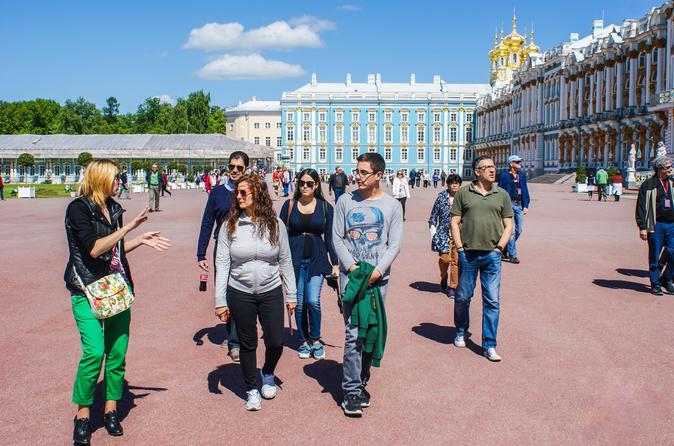 Tsarskoye Selo Highlights:Catherine Park & Local Attractions