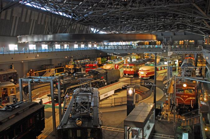 Railway Museum Admission Tickets - ticket delivery in Japan