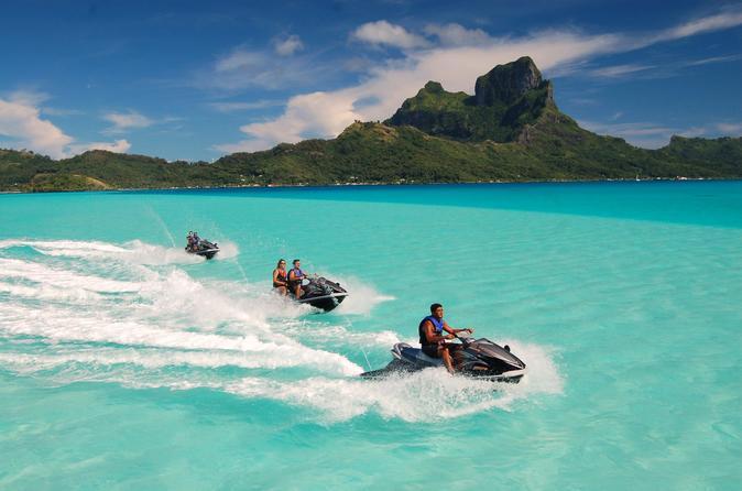 Excursão de jet ski em Bora Bora