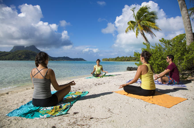 Half-Day Bora Bora Yoga Class and Snorkeling