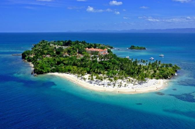 Cayo Levantado and Los Haitises National Park Tour with Transport from Puerto Plata