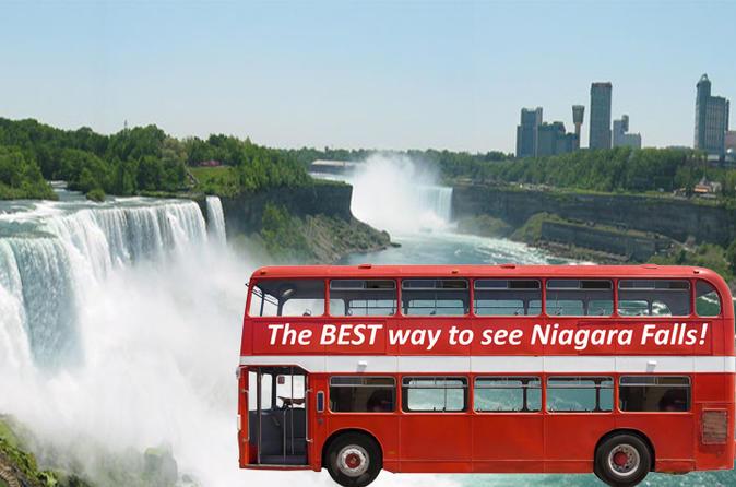 Double Decker Bus Tour Of Niagara Falls, NY