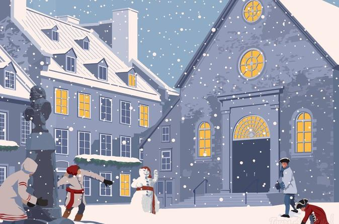 Historical walking tour in Old Quebec : Winter Tour